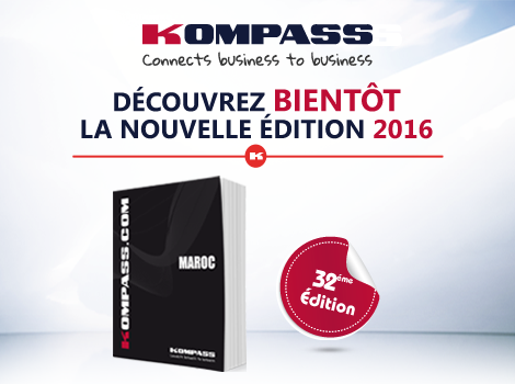 Kompass Maroc lance bientôt sa 32 ème édition