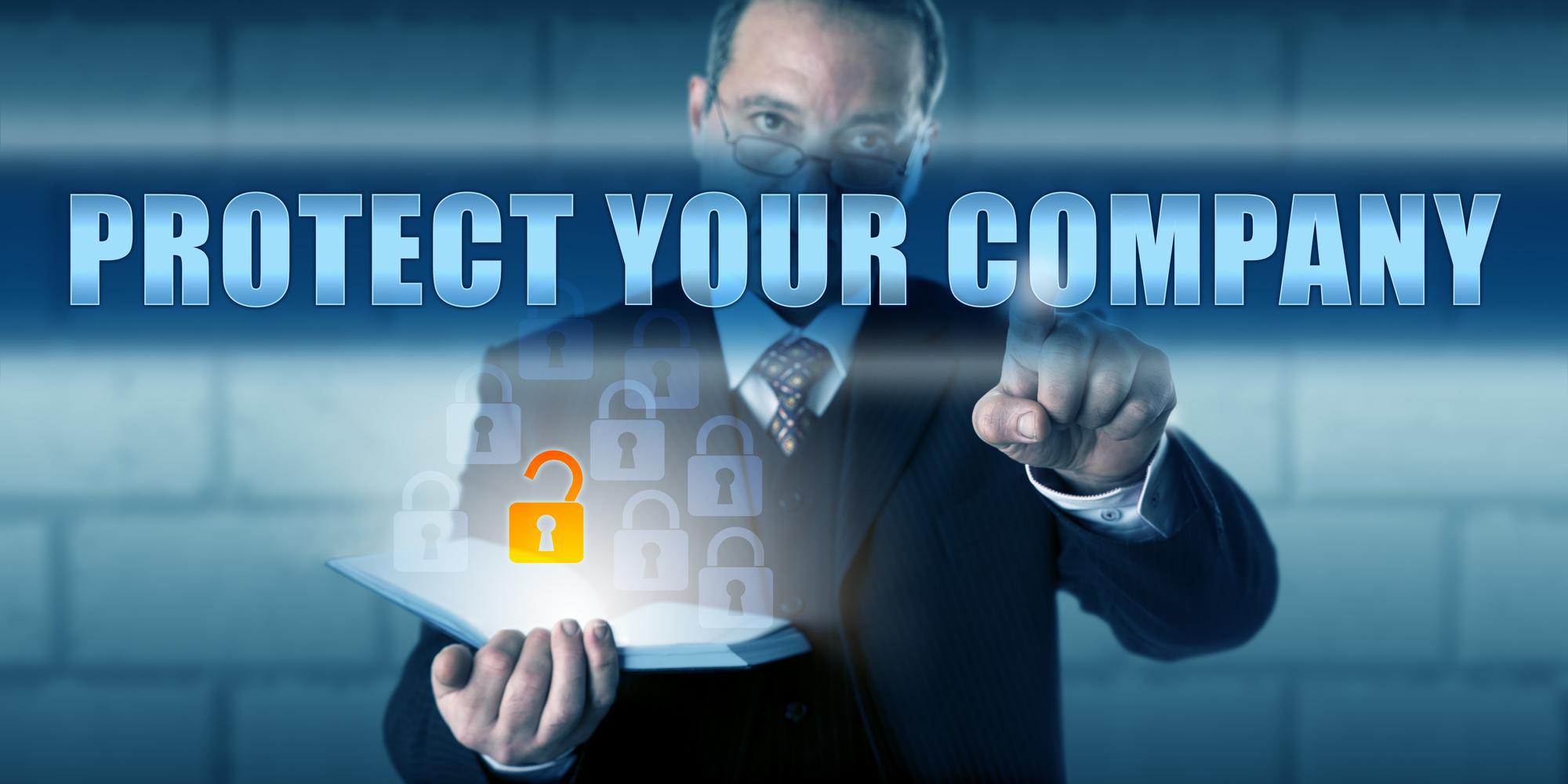 protect company data