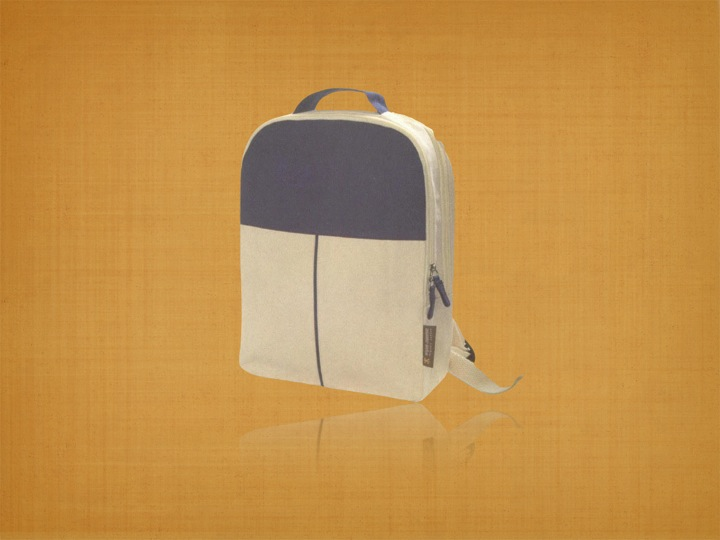 Recycled Organic Cotton Trade show Backpack