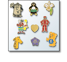 Charity badges
