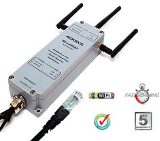 WLn-xROAD Punto de Acceso WiFi 11n / tecnología MIMO, Puente Cliente de Ethernet y Punto MESH. Producto apto para automoción y aplicaciones industriales…