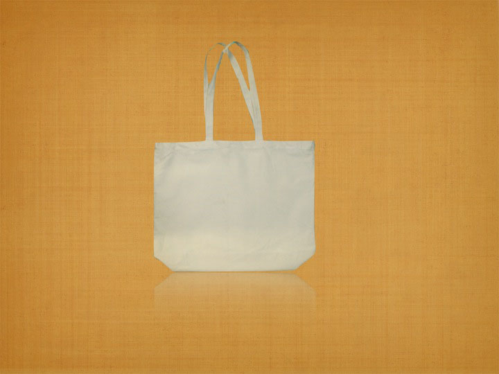 Earth Day-Recycled Cotton Event Tote Bag