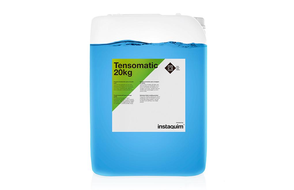 Tensomatic, producto tensioactivo para el lavado textil.