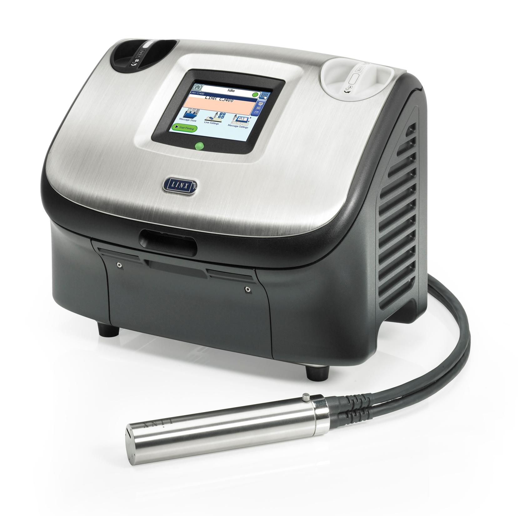 Impresora de inyección de tinta: LINX CJ400