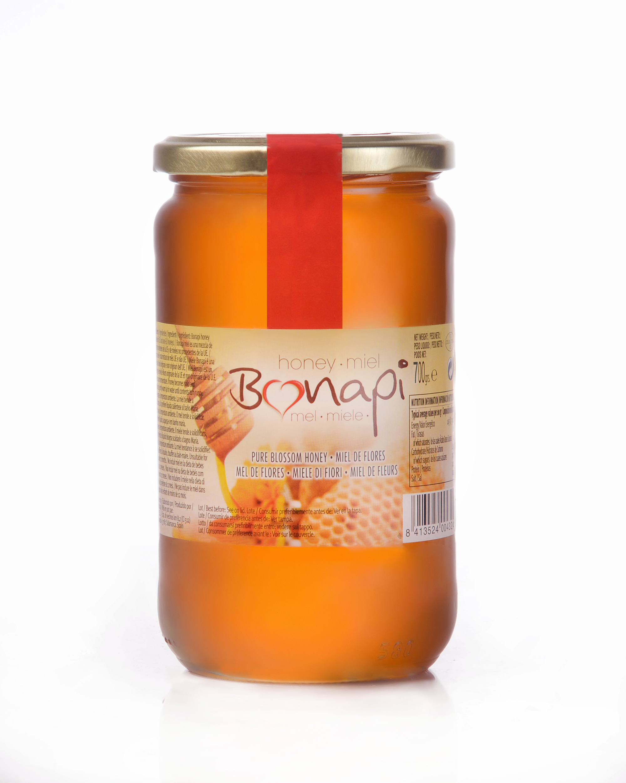 """Tarro 700g Miel de flores """"Bonapi"""""""