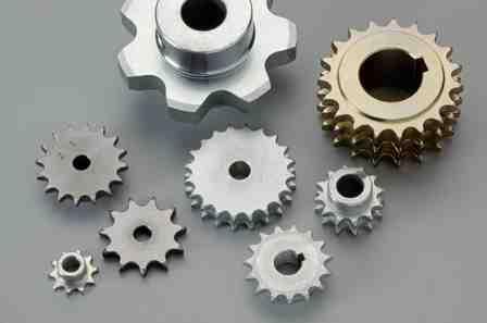 Kettenräder und Kettenradscheiben