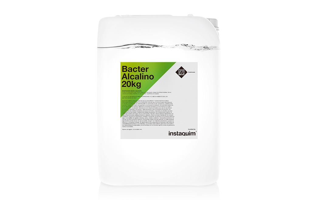 Bacter Alcalino, desinfectante alcalino espumante.