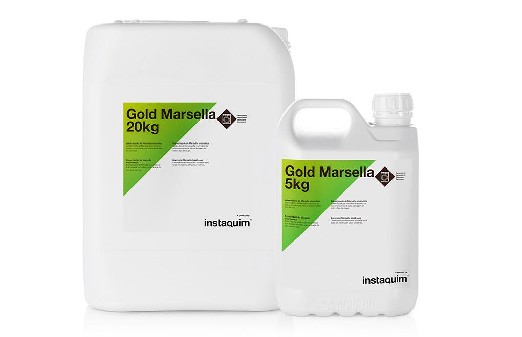 Gold Marsella, jabón líquido de Marsella enzimático.