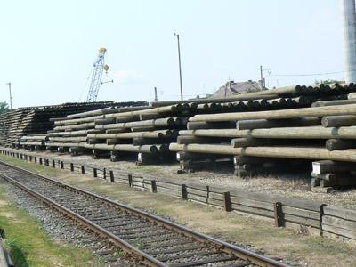 Dřevěné sloupy soběslav