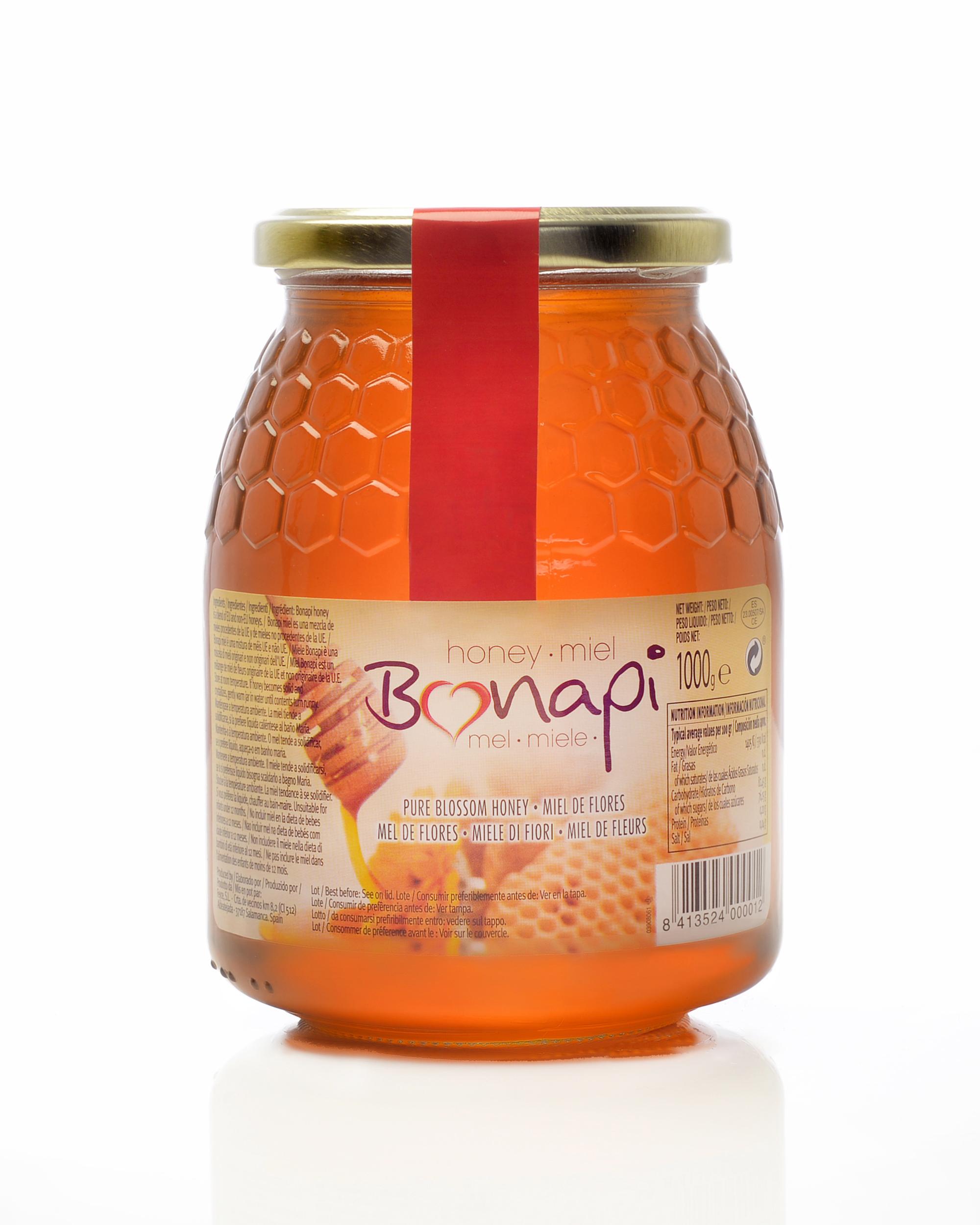 """Tarro 1kg Miel de Flores """"Bonapi"""""""