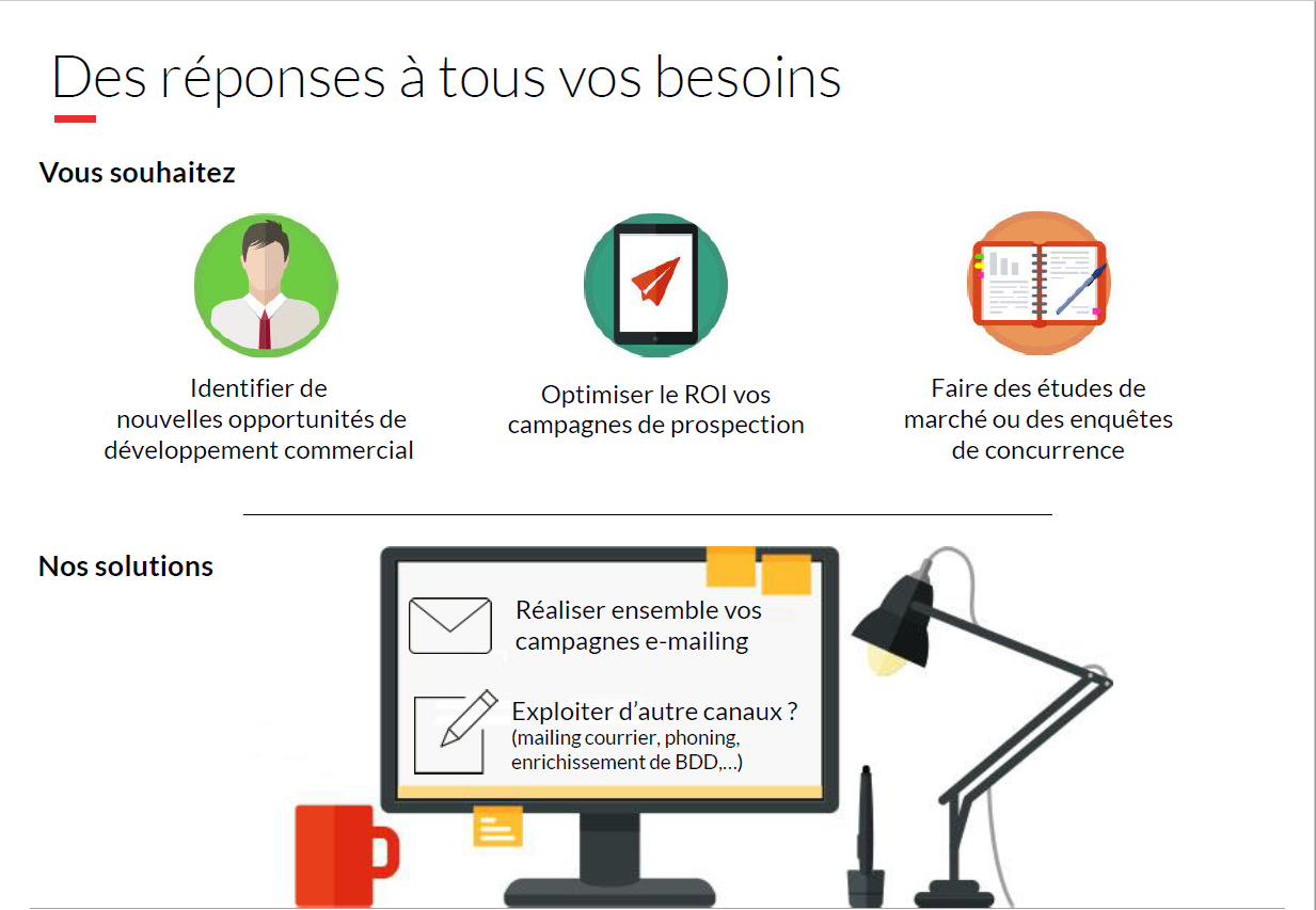 Les campagnes emailing