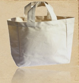 Recycled Organic Cotton Cosmetic Handbag
