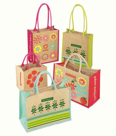 Jute Shopping promotional Sack handbags for Gift bags
