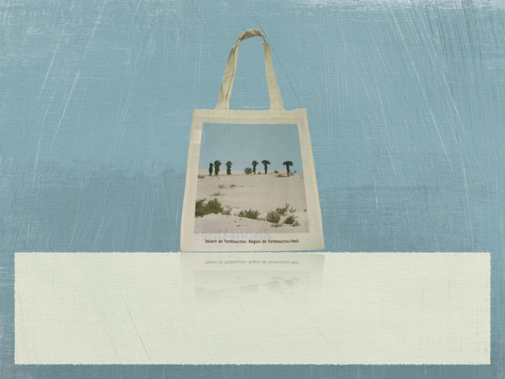 Cotton Shoulder Shopping Bag