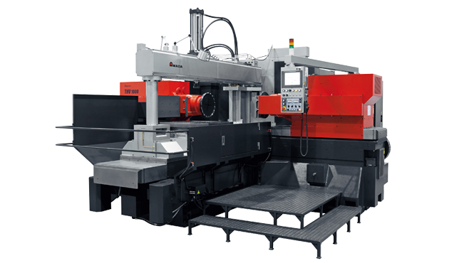 Amada THV1000 double headed milling machine