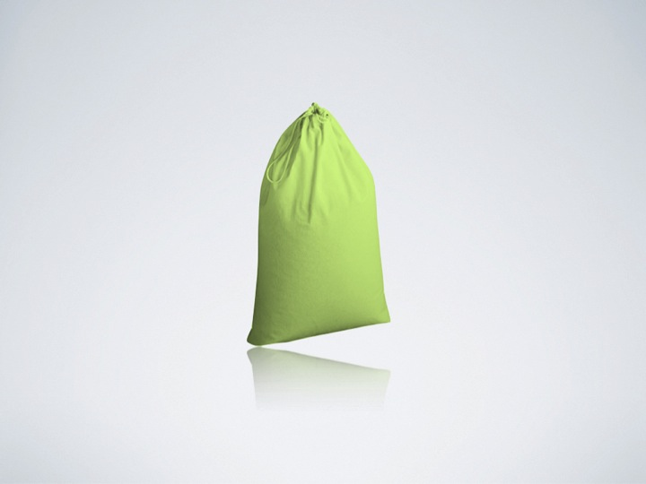 Recycled Organic Cotton Laundry Bag