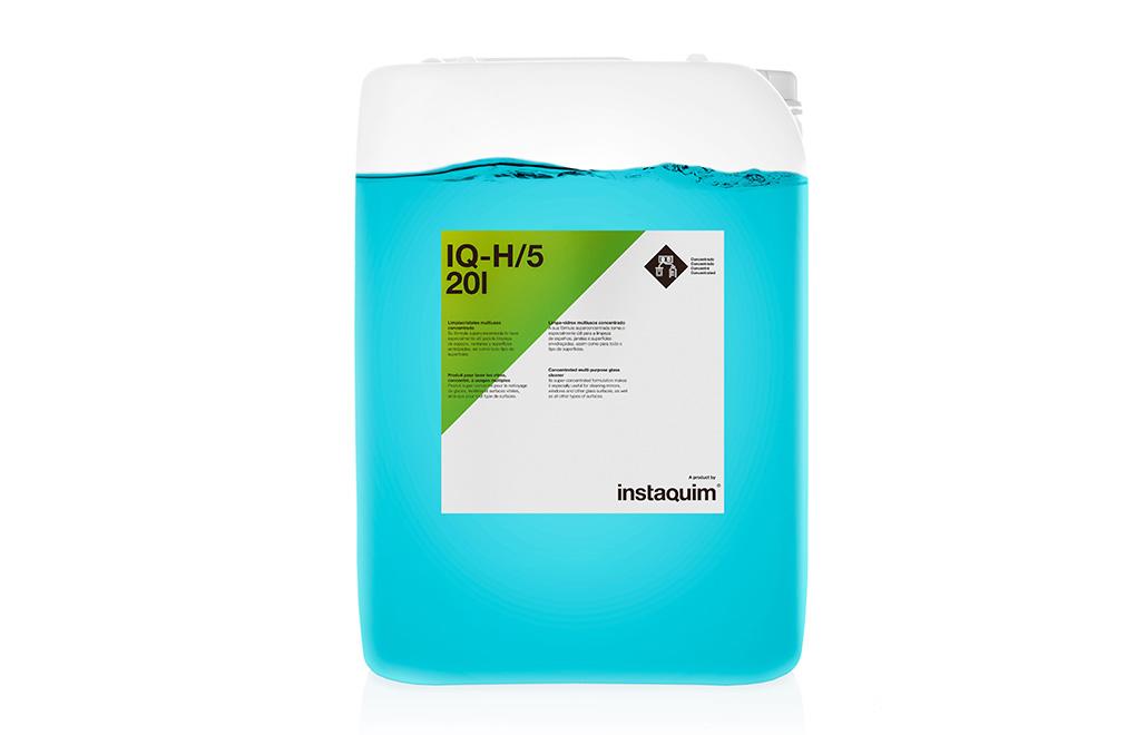 IQ-H/5, limpiacristales multiusos concetrado.