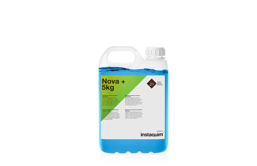 Nova+, detergente bioalcohol multiusos higienizante.