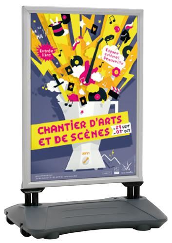 PANNEAUX AFFICHAGE À RESSORTS BASE LESTABLE