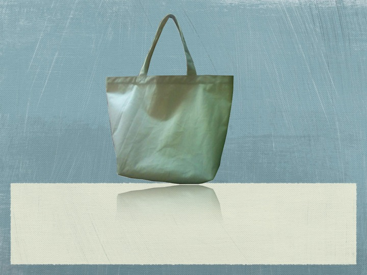 Recycled Organic Canvas Boat Bag