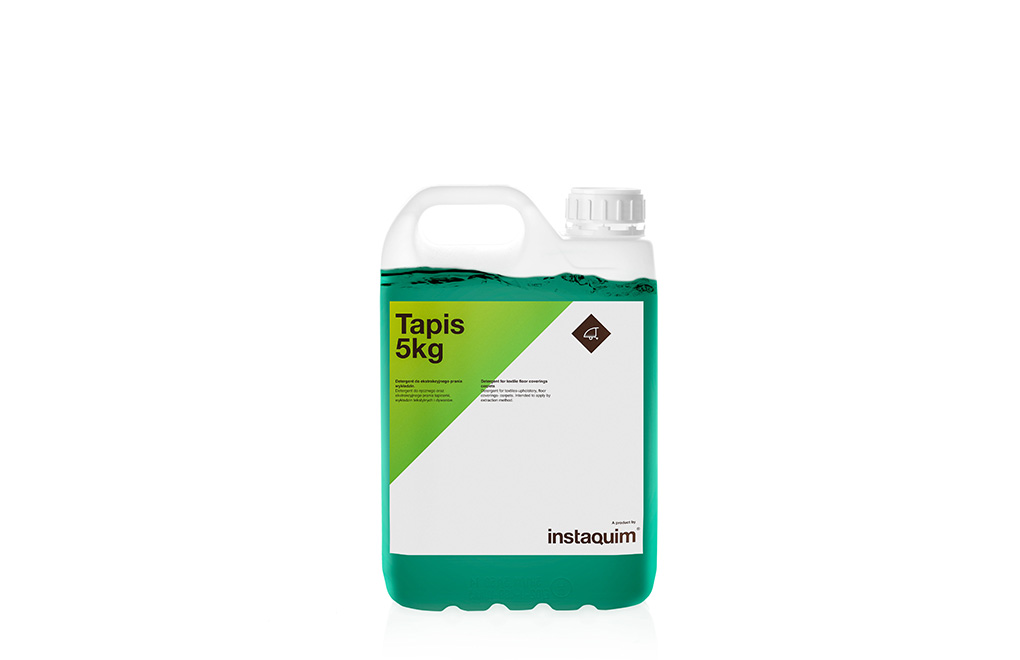 Tapis, detergente para la limpieza de moquetas a máquina.