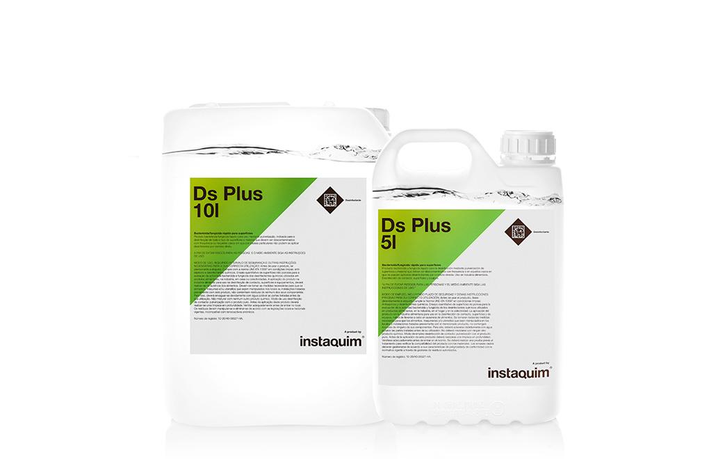 DS Plus, bactericida-fungicida rápido para superficies.