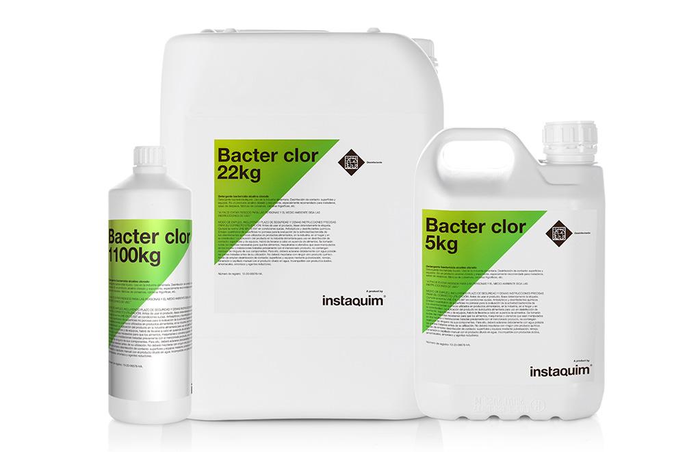 Bacter Clor, detergente bactericida alcalino clorado.