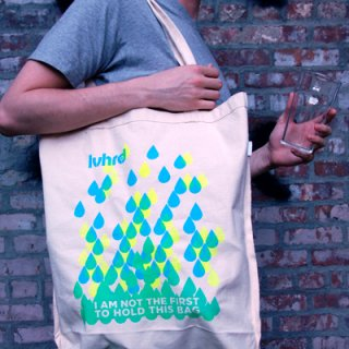 Earth Day-Recycled Organic Cotton Bag