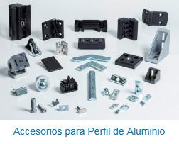 accesorios para perfil de aluminio de opac s l