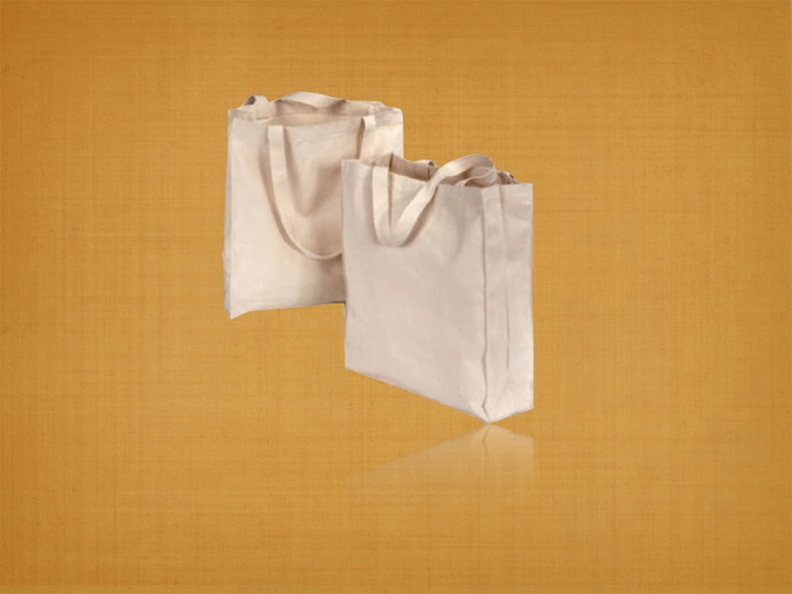 Recycled Organic Cotton Custom Tote Bag