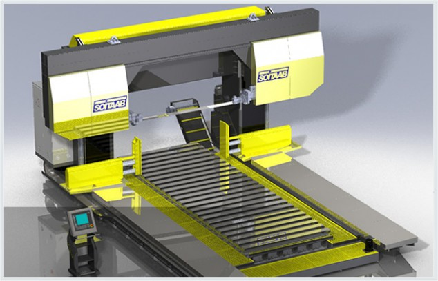 Soitaab GANTRY horizontal bandsaw machine