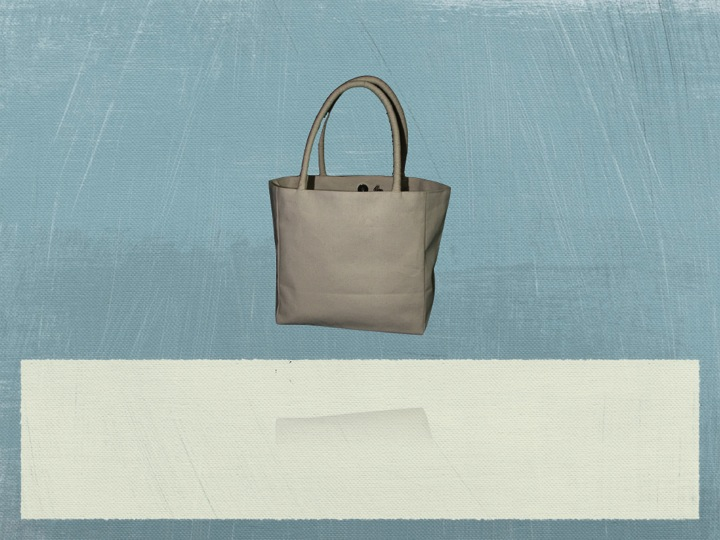 Recycled Organic Canvas Handbag