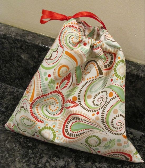 Recycled Organic Canvas Party Favor Bags