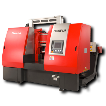 Amada PC530X pulse cutting automatic bandsaw