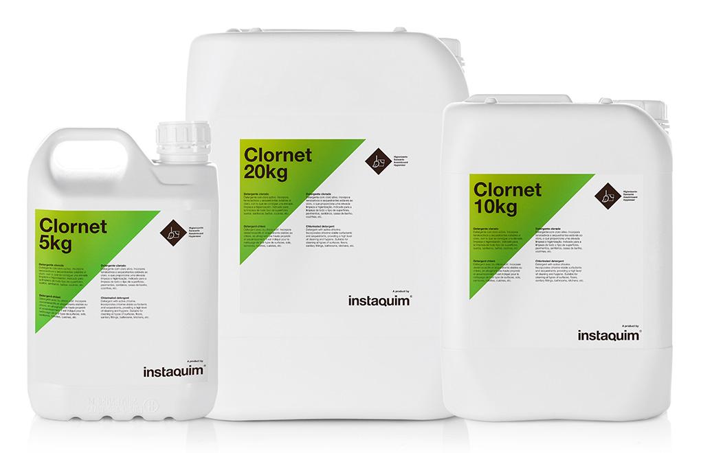 Clornet, detergente clorado.