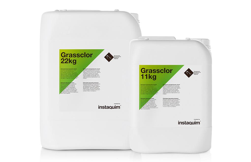 Grassclor, detergente desengrasante clorado.