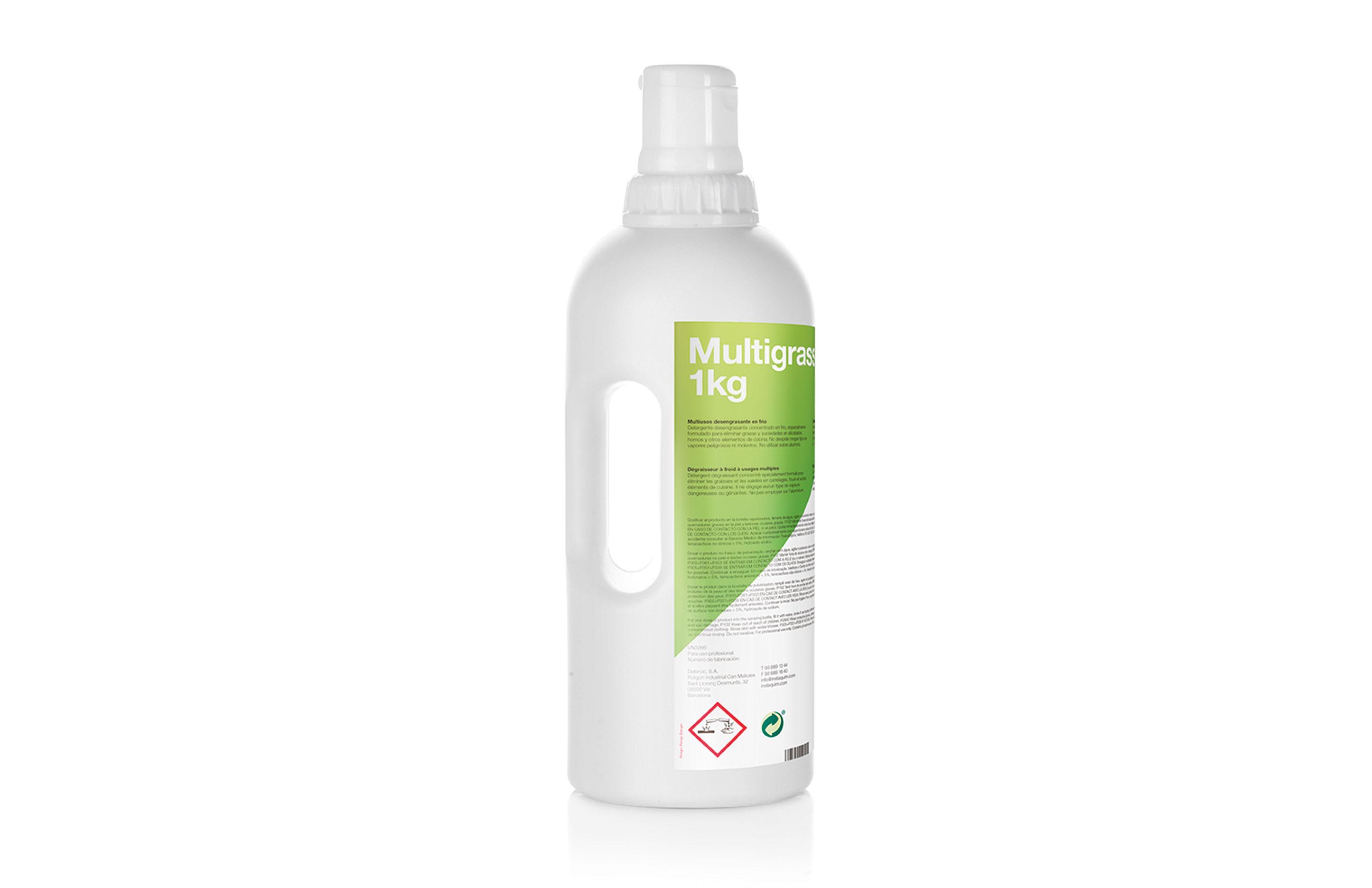 Multigrass, multiusos desengrasante en frío - Autodosis.