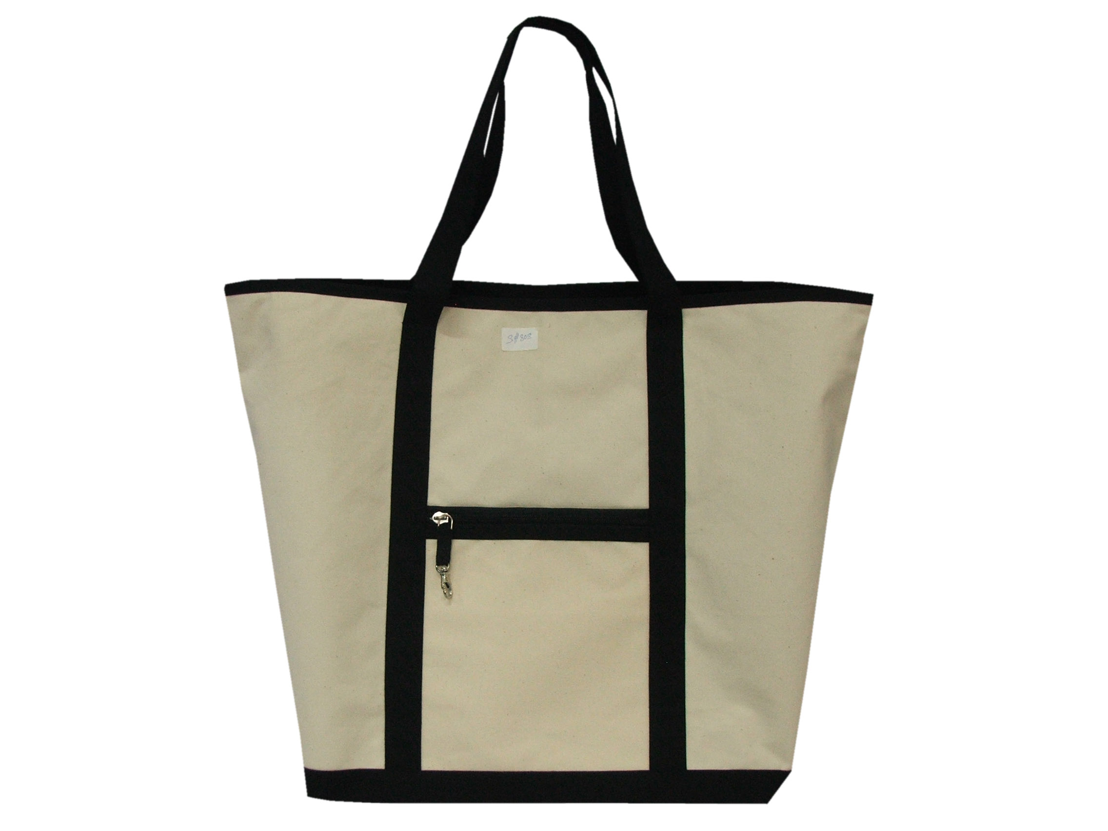 Deluxe Recycled Organic Canvas Tote Bag