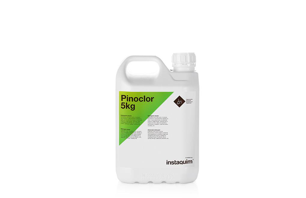 Pinoclor, detergente clorado.