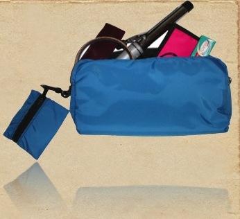 Organic Cotton Cosmetic Folding Bag