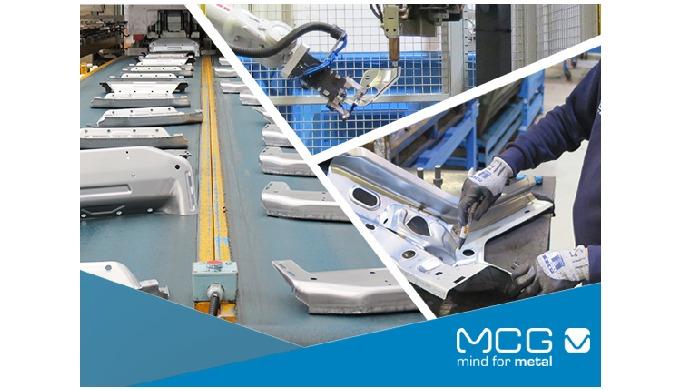 "MCG automotive top technologies applied in the Volkswagen T-Roc Reinforcement – ""C"" Pillar project"