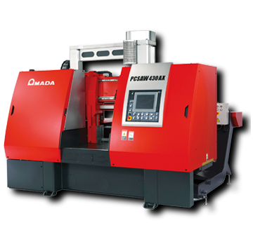 Amada PC430X/AX pulse cutting automatic bandsaw
