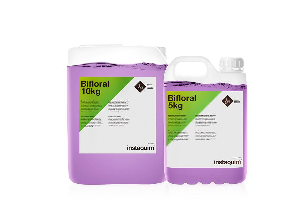 Bifloral, detergente ambientador suelos.