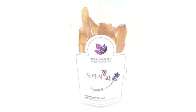 K-doraji Junggua(Balloon Flower Roots Junggua Snack)