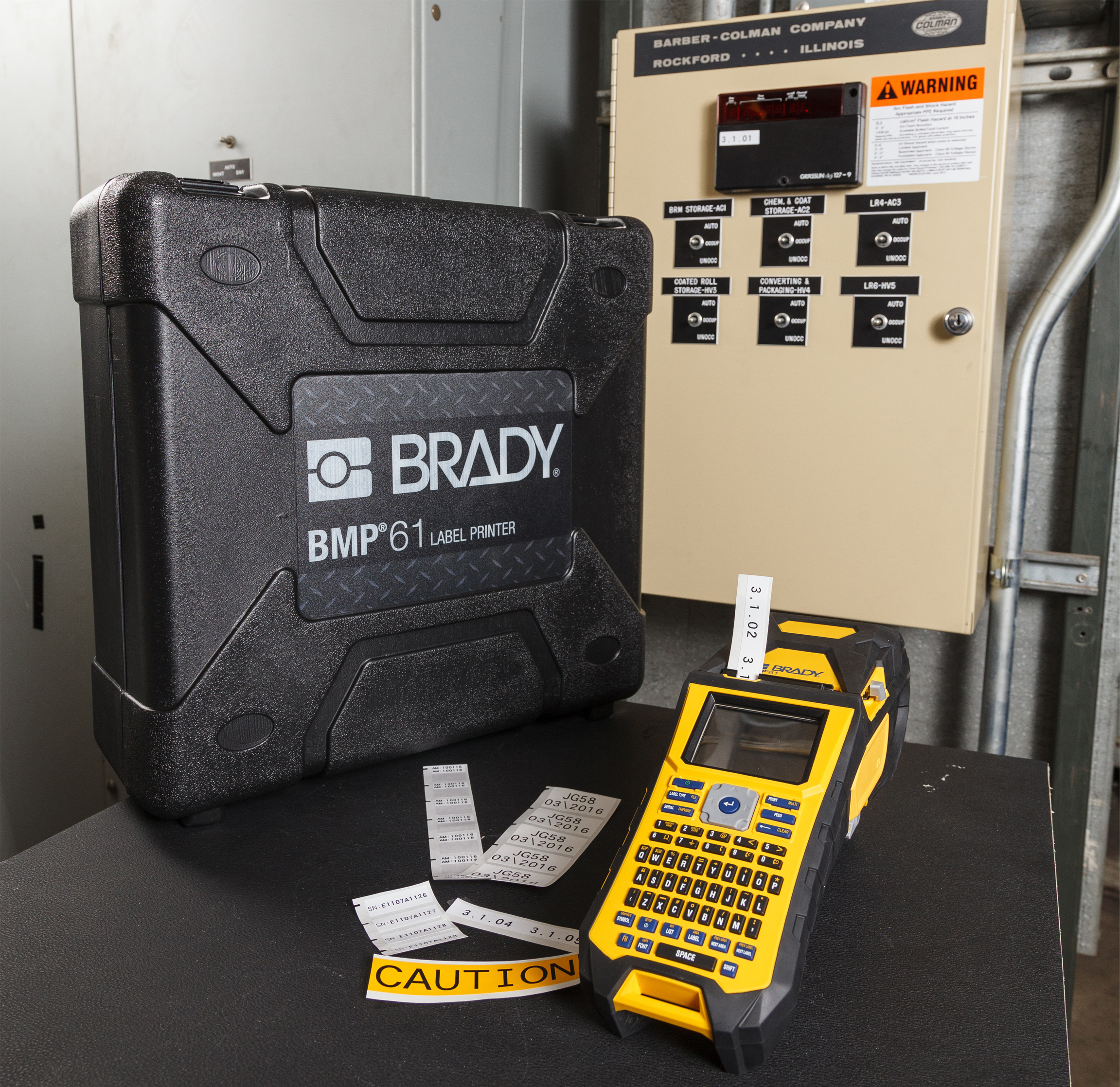 Imprimante d'identification Brady BMP 61
