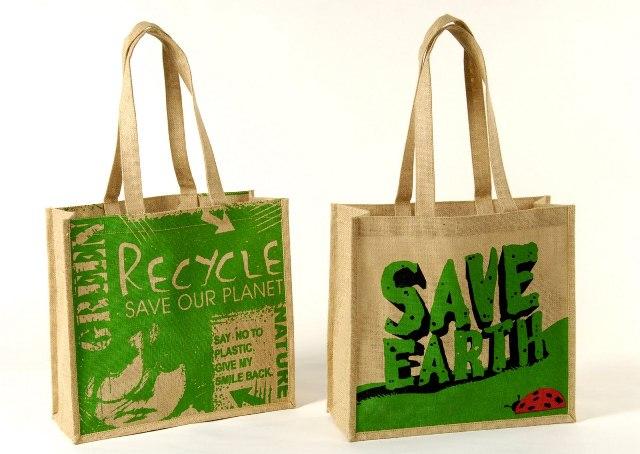Eco friendly jute bags