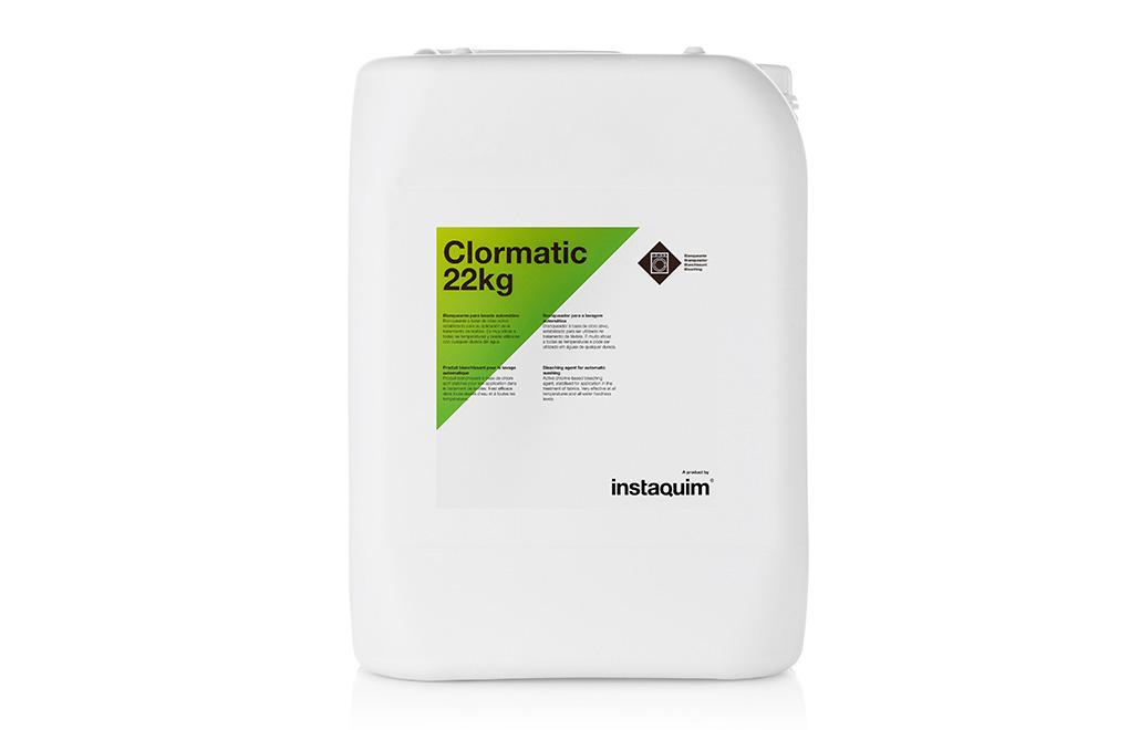 Clormatic, blanqueante para lavado automàtico.