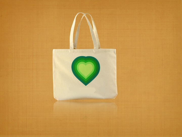 Recycled Organic Cotton Trade Show Bag