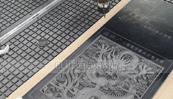 Chinese Dragon Carved by Our Own CNC Router