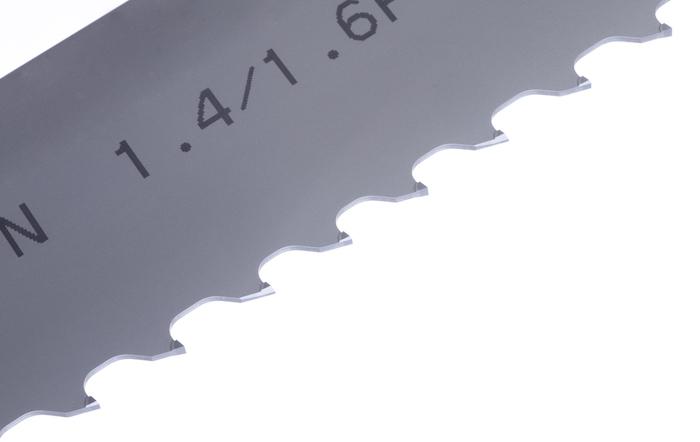 Amada Axcela S carbide tipped bandsaw blade